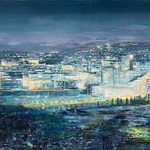 Frank Brunner: Sikt III, 2019, 140 x 200 cm