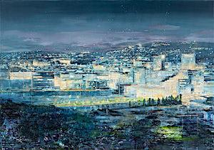 Frank Brunner, Sikt III, 2019, 140 x 200 cm
