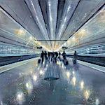 Frank Brunner: Transit II, 2019, 150 x 200 cm
