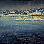 Frank Brunner: Hav, 2019, 50 x 70 cm