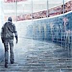 Frank Brunner: exit, 2006, 150 x 175 cm