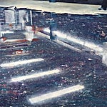 Frank Brunner: lower level #1, 2006, 150 x 200 cm