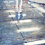 Frank Brunner: lower level #2, 2006, 175 x 150 cm