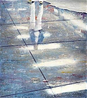 Frank Brunner, lower level #2, 2006, 175 x 150 cm