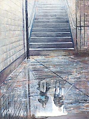 Frank Brunner, subway #4, 2006, 200 x 150 cm
