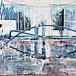 Frank Brunner: the pool #3, 2007, 110 x 140 cm