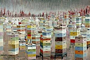 Frank Brunner, The Colony, 2008, 200 x 297 cm