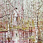 Frank Brunner: Abaton, 2008, 198 x 142 cm