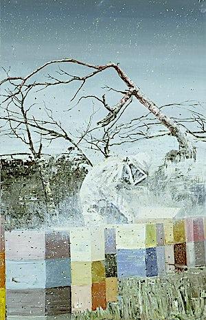 Frank Brunner, TheTree, 2008, 122 x 79 cm