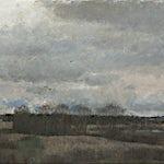 Halvard Haugerud: Novemberkveld, 2008, 43 x 62 cm