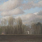 Halvard Haugerud: Homstvedt, 2011, 42 x 50 cm