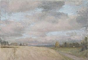 Halvard Haugerud, Varm himmel, 2011, 38 x 56 cm