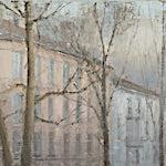 Halvard Haugerud: Ved Birkelunden, 2012, 25 x 35 cm