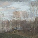 Halvard Haugerud: Kveld, 2011, 33 x 45 cm