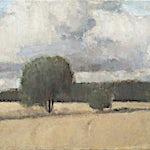 Halvard Haugerud: I september, 2012, 28 x 48 cm