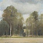 Halvard Haugerud: Gammelt landskap, 2012, 39 x 56 cm