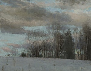 Halvard Haugerud, Fra Riksvei 115, 2014, 35 x 44 cm