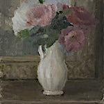 Halvard Haugerud: Roser på skatollet, 2015, 32 x 26 cm