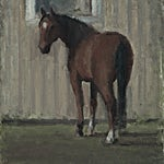 Halvard Haugerud: Dyreblikk, 2018, 28 x 25 cm