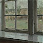 Halvard Haugerud: Regn, 2019, 31 x 38 cm