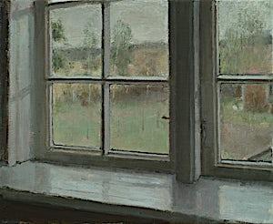 Halvard Haugerud, Regn, 2019, 31 x 38 cm