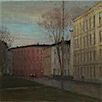 Halvard Haugerud: Etter regn, 2020, 24 x 31 cm