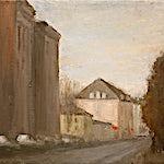 Halvard Haugerud: Stille gate, 2005, 28 x 24 cm
