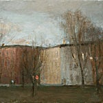 Halvard Haugerud: Fra Grünerløkka 1, 2007, 27 x 34 cm