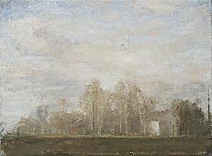 Halvard Haugerud, Hjem igjen, 2007, 26 x 35 cm