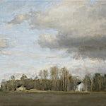 Halvard Haugerud: Homstvedt skole, 2006, 37 x 46 cm