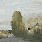 Halvard Haugerud: Lav sol, 2006, 36 x 46 cm