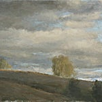 Halvard Haugerud: Skråning, 2007, 30 x 47 cm