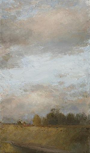 Halvard Haugerud, Varm kveld, 2008, 54 x 32 cm