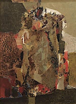 Halvdan Ljøsne, Steinen, 1968, 76 x 57 cm