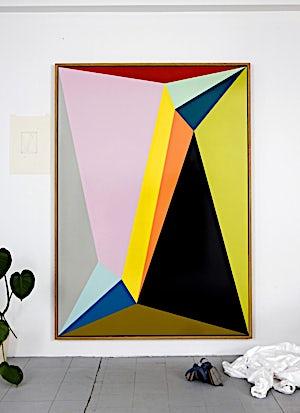 Henrik Placht, Supersymmetry, 2010, 190 x 134 cm