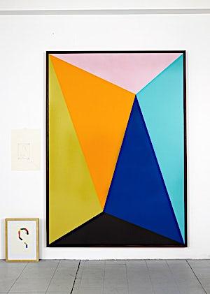 Henrik Placht, Higgs Boson, 2010, 190 x 134 cm