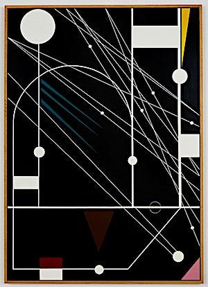 Henrik Placht, Totalitarianism complex III, 2010, 190 x 134 cm