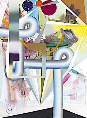 Henrik Placht, Leviathan, 2013, 150 x 110 cm