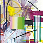 Henrik Placht: Skogsparti, 2015, 190 x 134 cm