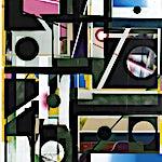 Henrik Placht: Algoritmer, 2018, 190 x 134 cm