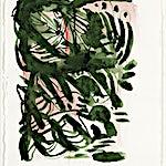 Henrik Placht: Uten tittel (akvarell), 2018, 38 x 28 cm