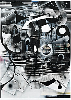 Henrik Placht: Drømmen om apokalypsen I, 2018, 268 x 190 cm