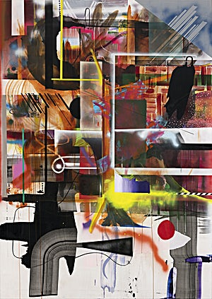 Henrik Placht, Rapture, 2020, 268 x 190 cm