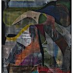 Henrik Placht: Subtropical landscape, 2020, 190 x 134 cm