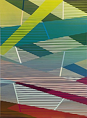 Henrik Placht, Under the rose 3, 2007, 150 x 110 cm