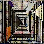 Henrik Placht: Eye of the rose (Giza cut), 2007, 190 x 134 cm