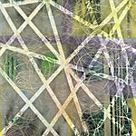Henrik Placht: Vigilante VIII (Malachite and sugilite ), 2007, 190 x 134 cm