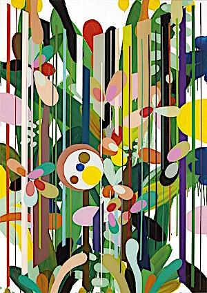 Henrik Placht, The heaven of the fixed stars I, 2009, 190 x 134 cm