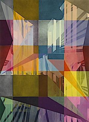 Henrik Placht, Metropolis, 2009, 150 x 110 cm