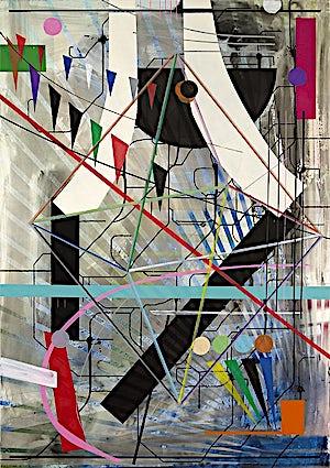 Henrik Placht, Reclusion, 2009, 190 x 134 cm